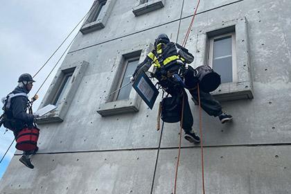 ロープアクセス工法