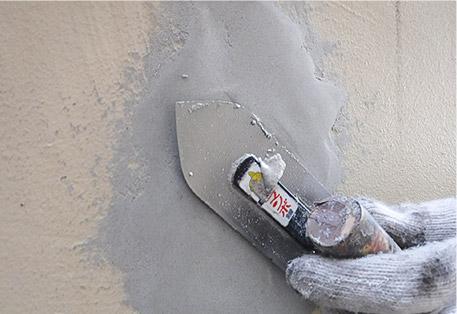 外壁下地補修工事